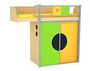 Купить кровать 38 попугаев -чердак Выше радуги
