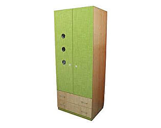 Шкаф-гардероб 3 иллюминатора Полосатый рейс
