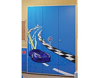 Шкаф для одежды трехдверный Браво Ижмебель, мод.1