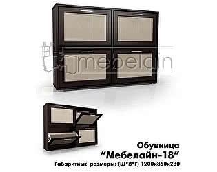 Обувница Мебелайн-18