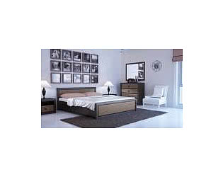 Спальня BRW Коен (штрокс темный)
