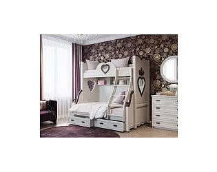 Двухъярусные кровати 4 сезона