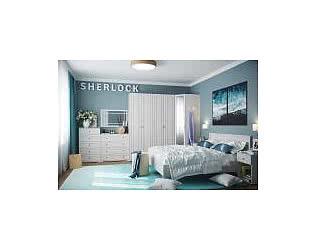 Спальня Глазов Sherlock (ясень анкор светлый)