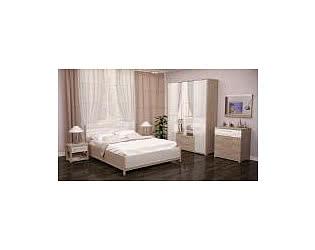Спальня Ижмебель Вива (невис/ белый глянец)