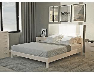 Кровать Райтон Dakota-M-тахта береза (белый, слоновая кость)