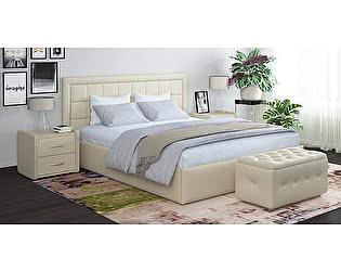 Купить кровать Moon Trade Ноэми 160 Модель 1202 (белый) с подъемным механизмом