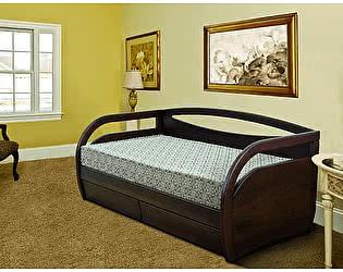 Купить кровать Диамант-М Скай (эмаль/кракле)