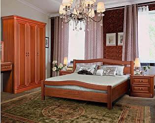 Кровать Диамант Руно-10 (лак) с подъемным механизмом и ящиком