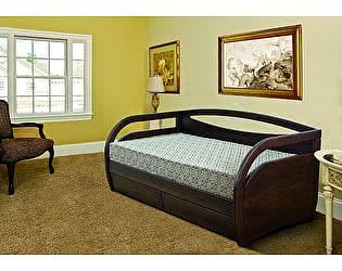 Купить кровать Диамант-М Скай (лак) с ящиками