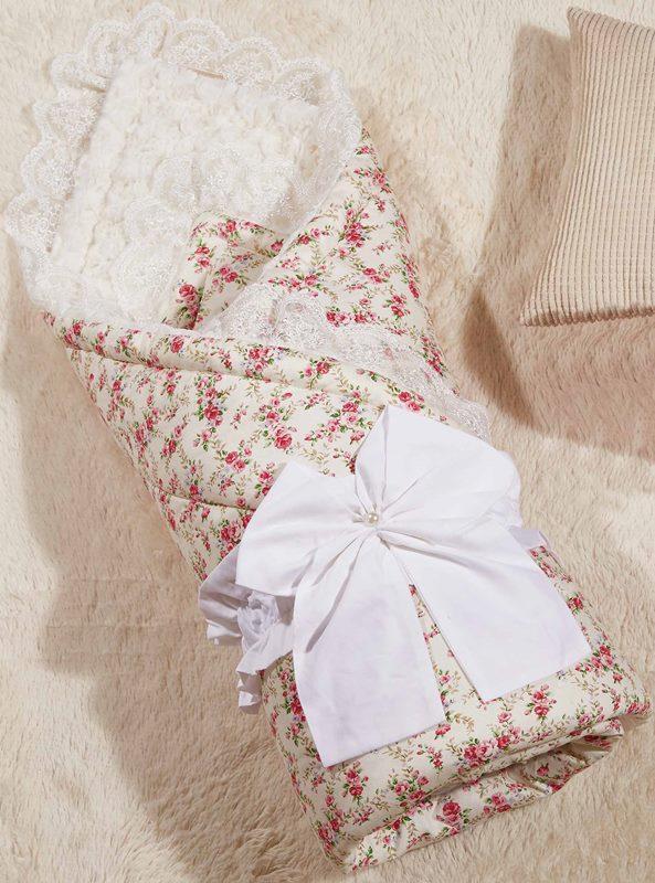 Одеяло-конверт KAZANOV.A. Бамбини, розовый - Петербург