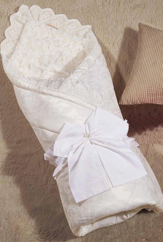 Одеяло-конверт KAZANOV.A. Бамбини, молочный - Петербург