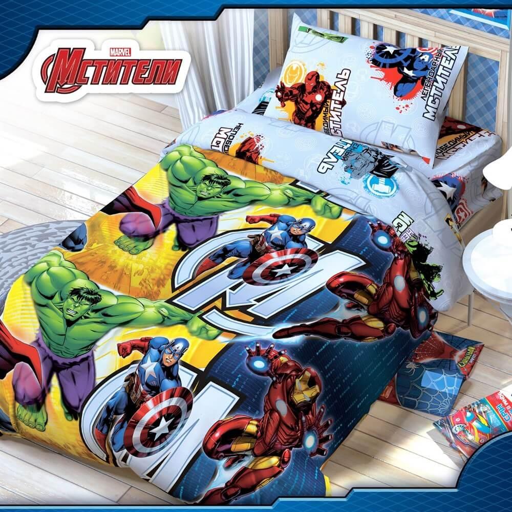 Детское постельное белье Disney Мстители - Detskoye-Postelnoe.Ru