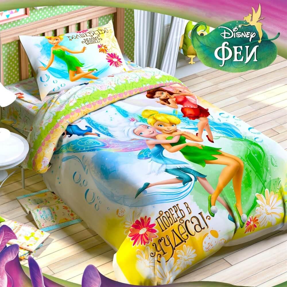 Детское постельное белье Disney Феи, Чудеса - Detskoye-Postelnoe.Ru