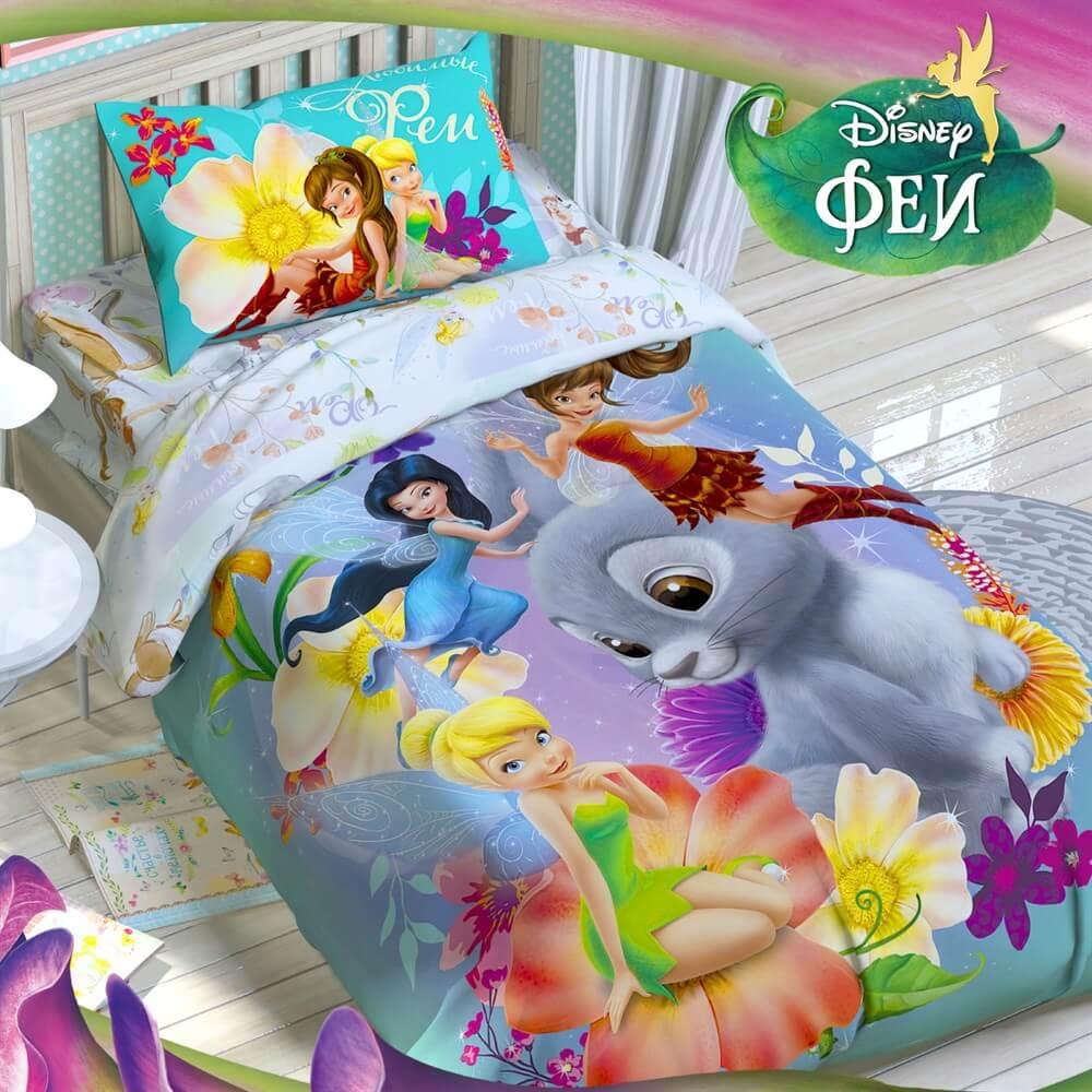 Детское постельное белье Disney Феи - Detskoye-Postelnoe.Ru