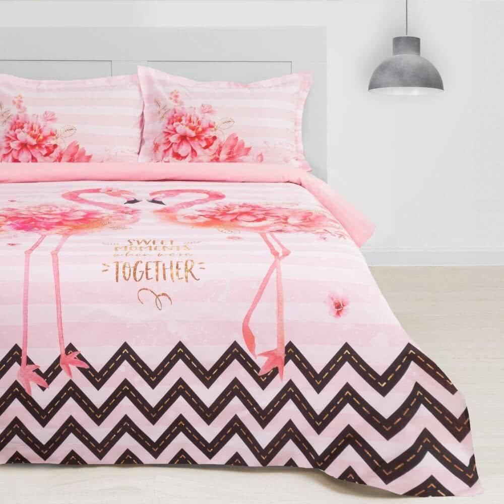 Постельное белье Этель ETP-213 Розовый фламинго - Петербург