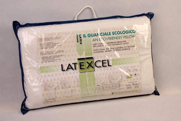 Упаковка подушки Latexcel