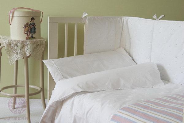 Детское постельное белье для новорожденных в кроватку Luxberry