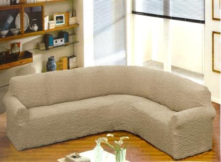 для дома. покрывало на угловой диван