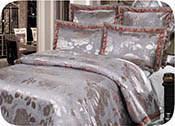 Жаккардовое постельное белье Kingsilk