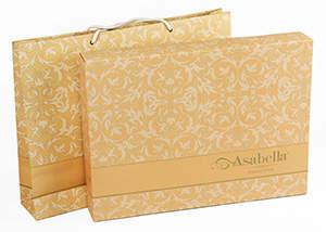 Жаккардовое постельное белье Asabella (Anabella), упаковка