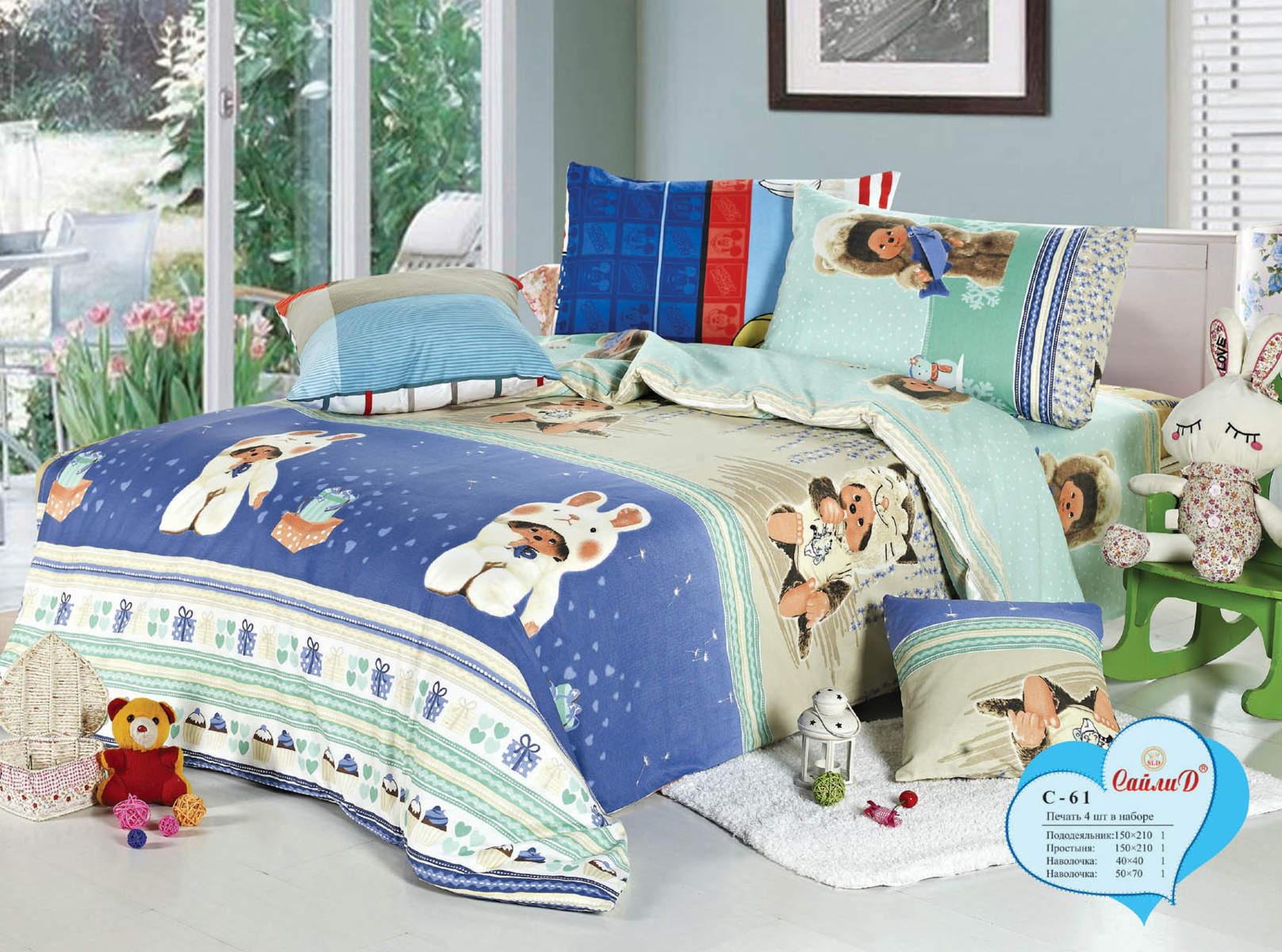 Детское постельное белье Сайлид С-61 - Detskoye-Postelnoe.Ru