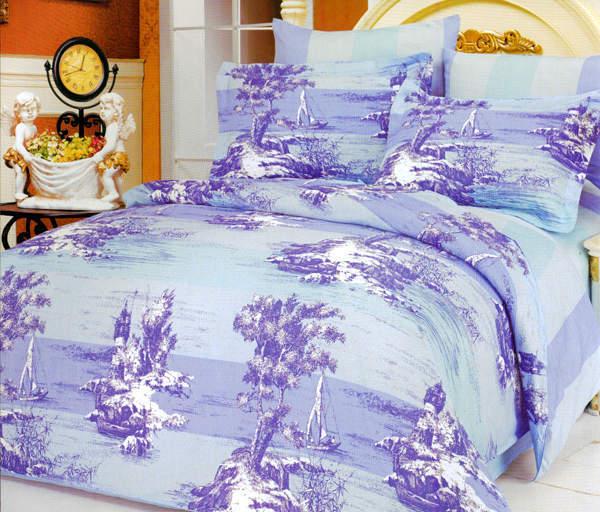 Двуспальное постельное белье евро Lе Vele Sopnie