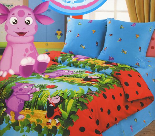 Детское постельное белье для малышей с Лунтиком
