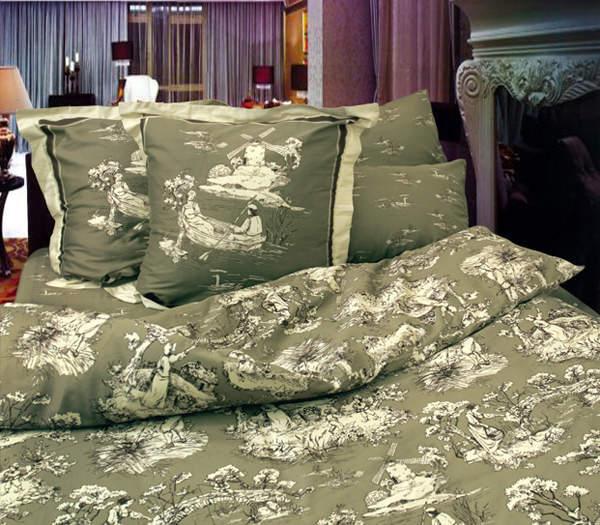 Двуспальное постельное белье ТЕТ-А-ТЕТ Романтик