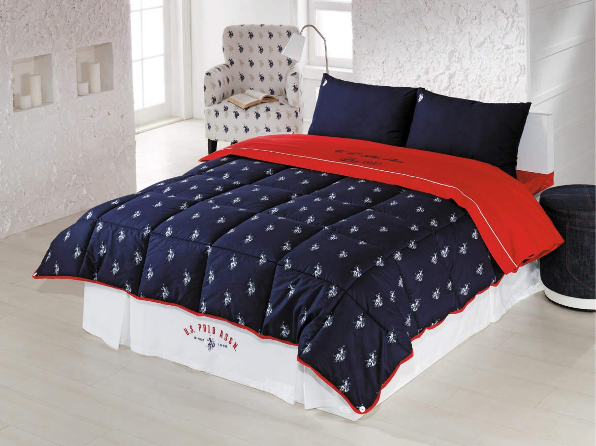 Постельное белье US Polo Minnesota с одеялом-покрывалом - Петербург