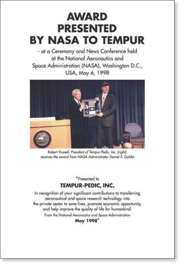 Сертификат TEMPUR