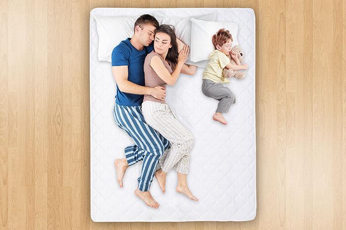 Двуспальный семейный матрас