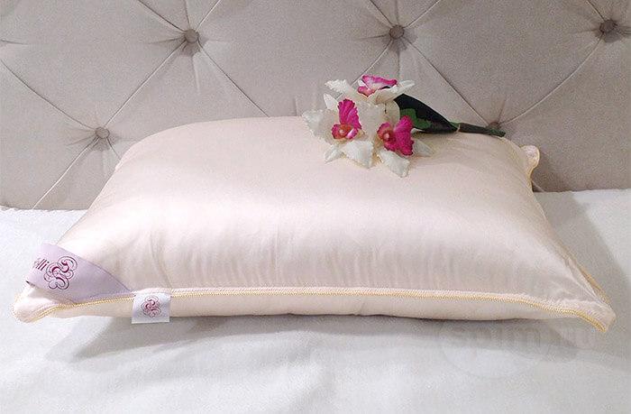 Гипоаллергенные подушки - шелк