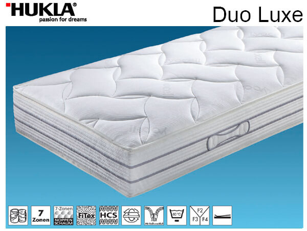 Матрас HUKLA Duo Lux F4