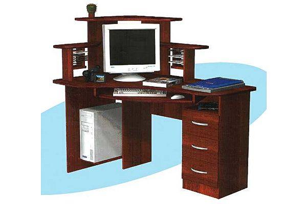 Компьютерный стол ГРОС СКУ-4 (левый)