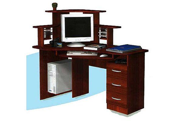 Компьютерный стол ГРОС СКУ-5 (левый)