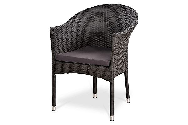Плетеное кресло Афина-мебель Y350W-W2390 Brown