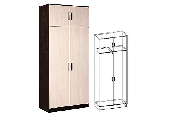 Шкаф Мебель Маркет Машенька 2-х створчатый