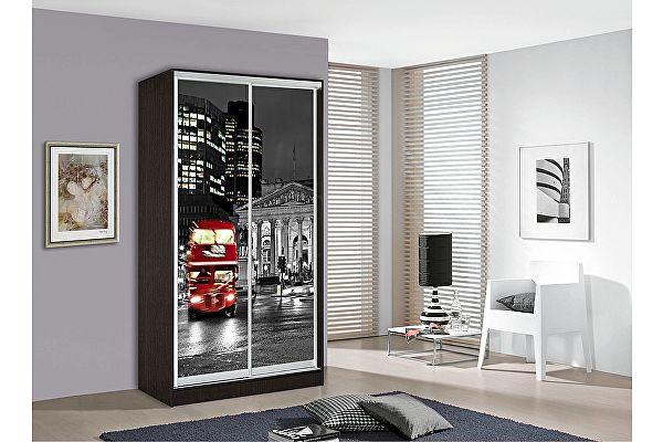Шкаф-купе Мебель Маркет Оскар 1 Лондон (Венге)
