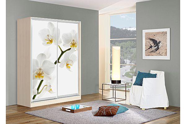 Шкаф-купе Мебель Маркет Оскар 2 Орхидея (Дуб молочный)