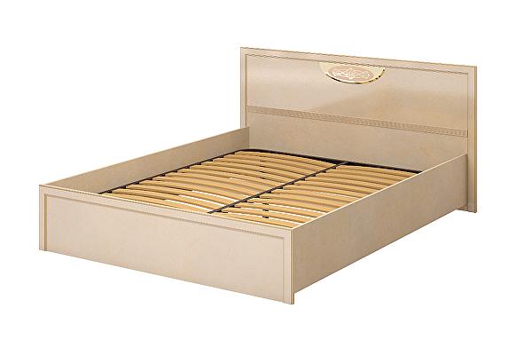 Кровать Ижмебель Милан 5 двойная 1600 (К-1)
