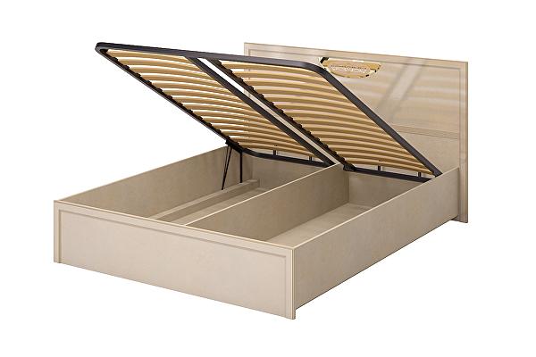 Кровать Ижмебель Милан 5 двойная 1600 ПМ (К-2) с подъемным механизмом