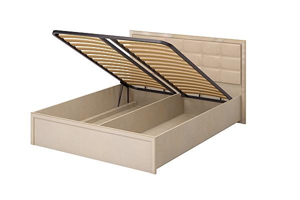 Кровать Ижмебель Милан 8 двойная 1600 ПМ с подъемным механизмом