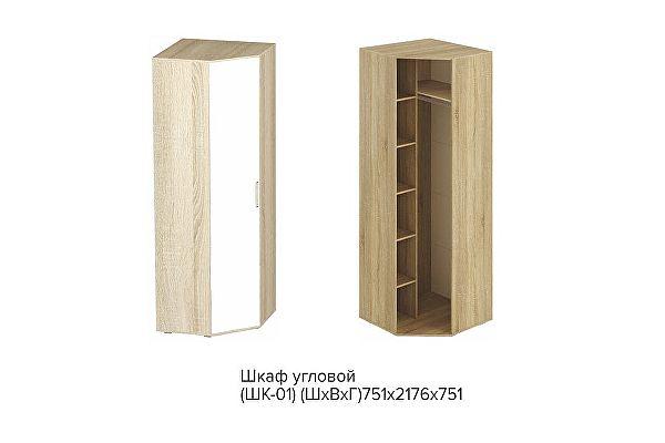 Шкаф угловой BTS Сенди ШК-01