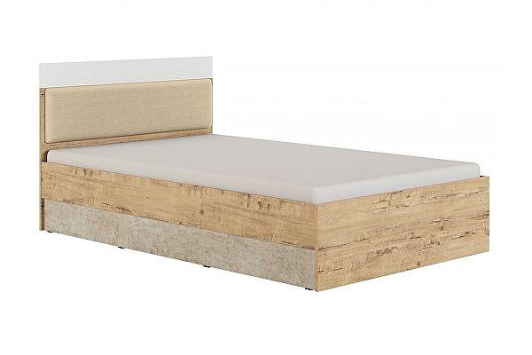 Полутороспальная кровать МСТ Дублин Стоун 120, модуль 2