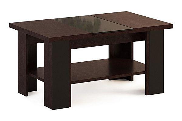 Прямоугольный журнальный столик МСТ Сенатор Модуль 11  (венге)