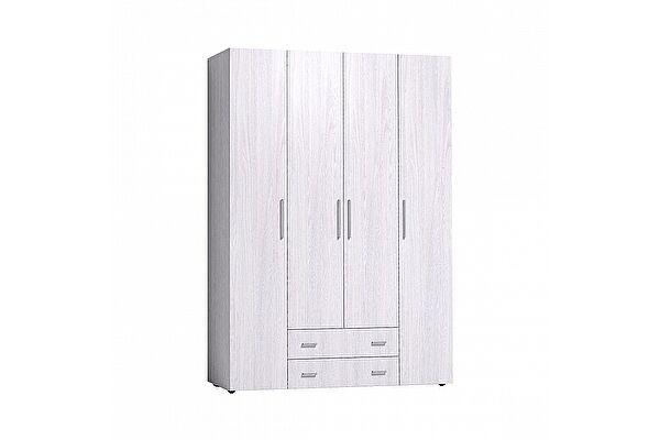 Шкаф для одежды и белья Глазов Монако 555 Стандарт (Ясень Анкор светлый)