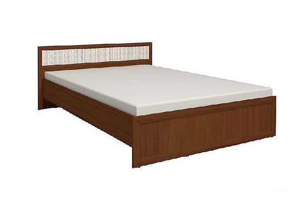 Кровать 5 Глазов Милана 180х200 см (Орех)