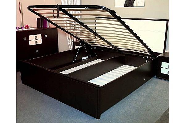 Кровать Глазов Амели Люкс 101+1.2 (180х200) с основанием и подъемным механизмом