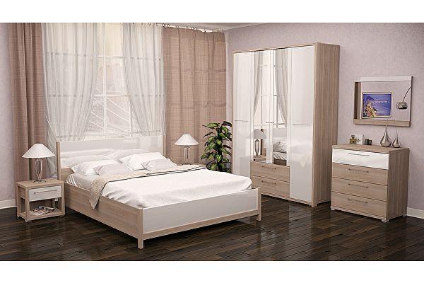 Спальня Ижмебель Вива Вариант компоновки 1