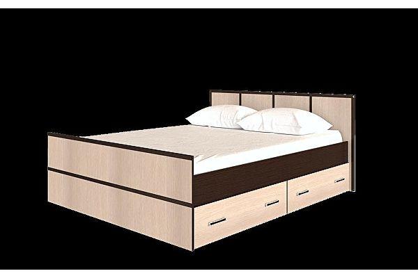 Кровать  BTS Сакура 140, с настилом ДСП, без матраса